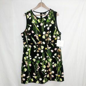 NWT Victoria Backham Target 1XL Sleeveless Dress Q
